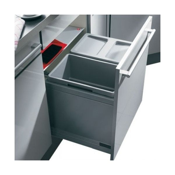 Keuken Afvalbak Inbouw : Hailo Triple-XL 60 liter Afvalemmer 3631.60 ? 137.00 bij