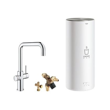 GROHE Red new Duo 3 in 1 supersteel 30144