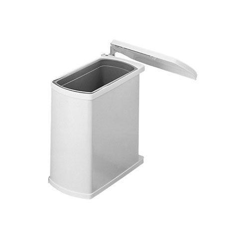Hailo Uno 18 liter inbouw prullenbak Wit 3418.00