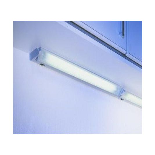 Kantelbare TL-verlichting RVS Lengte 583 mm 13 watt