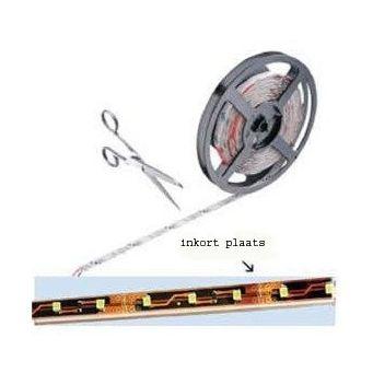 LED strip met siliconen water afstotend 2 meter 120 leds 9,6 Watt