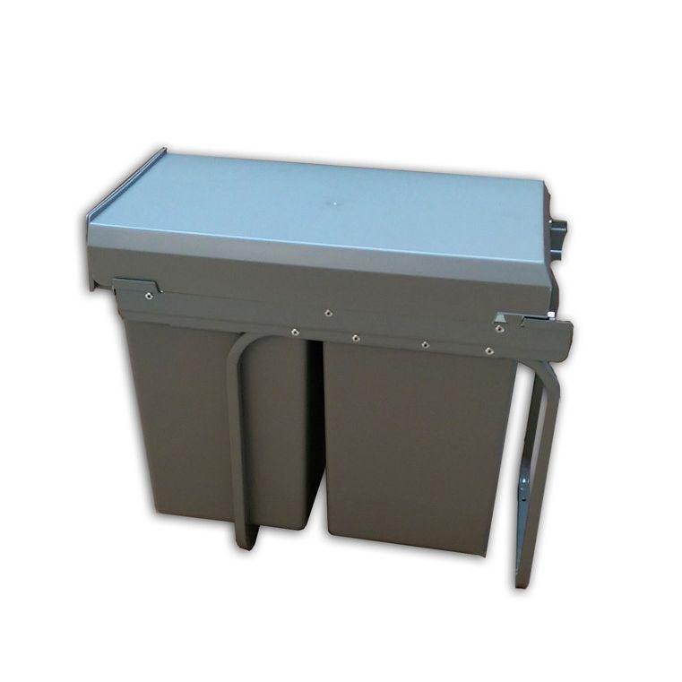 wesco double boy 2 x 15 liter. Black Bedroom Furniture Sets. Home Design Ideas
